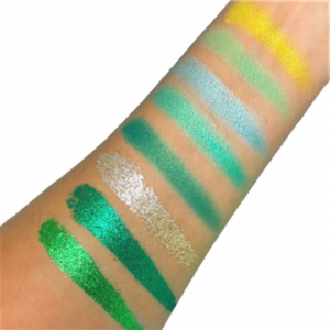 Swatches of eyeshadow