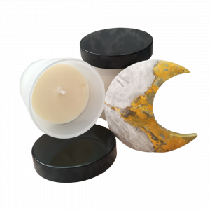 Product example of massage candle