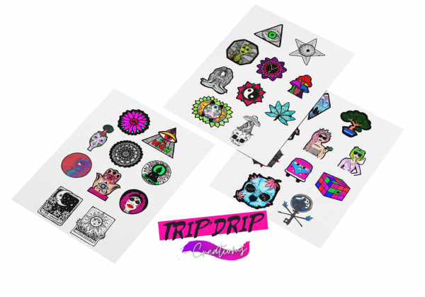 Exclusive Sticker Sheets