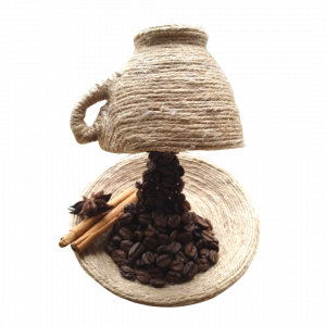 The Dam Coffee Cup Ornament - Hemp Homeware product example